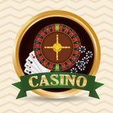 Casino icons design Royalty Free Stock Image