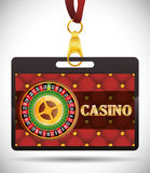 Casino icons design Stock Images