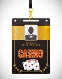 Casino icons design Royalty Free Stock Photos