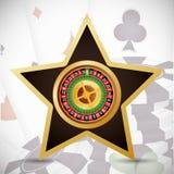 Casino icons design Stock Photos