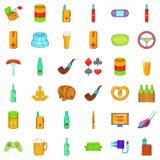 Casino icons set, cartoon style. Casino icons set. Cartoon style of 36 casino vector icons for web isolated on white background Royalty Free Stock Photos