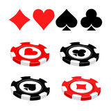 Casino illustration Stock Photo