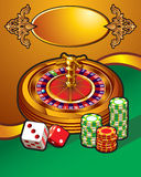 Casino illustration Stock Photography