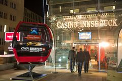 Casino in Innsbruck, Tirol Royalty Free Stock Photo