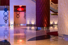 Casino interior architecture Stock Images