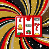 Casino items icon set Royalty Free Stock Photo