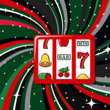 Casino items icon set Stock Image