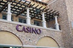 Casino, lac Las Vegas, Las Vegas, Nevada Images libres de droits