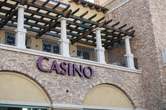 Casino, Lake Las Vegas, Las Vegas, Nevada. Luxury development close to Las Vegas, Nevada, Lake Las Vegas Royalty Free Stock Images