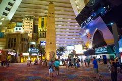 Casino Las Vegas de la American National Standard del hotel de Luxor Imagen de archivo