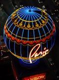 Casino Las Vegas de Paris fotografia de stock