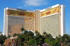 Casino Las Vegas del espejismo fotos de archivo