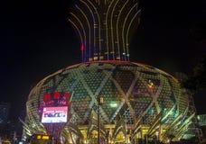 Casino Lisboa de Macau Fotos de Stock