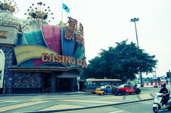 Casino Lisboa Royalty Free Stock Image