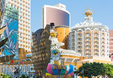 Casino Lisboa in Macau Royalty Free Stock Photos