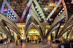 The casino Lisboa night Royalty Free Stock Images