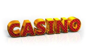 Casino logo Stock Photography