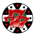 Casino lucky symbol stock illustration
