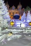 Casino Mónaco 4 de Navidad Imagen de archivo libre de regalías
