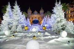 Casino Mónaco 7 de Navidad Fotos de archivo