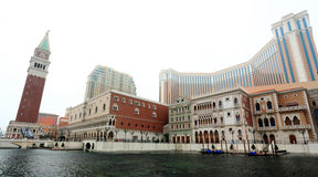 Casino in Macao royalty-vrije stock afbeelding