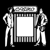 Casino mafia Royalty Free Stock Image