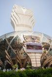 Casino magnífico de Lisboa en Macao Imagenes de archivo