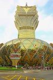 Casino magnífico de Lisboa, Macao imágenes de archivo libres de regalías