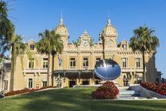 Casino magnífico de Monte Carlo, Mónaco Foto de archivo libre de regalías