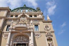 Casino magnífico en Monte Carlo Fotografía de archivo libre de regalías