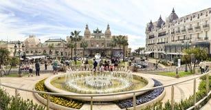 Casino magnífico, Monte Carlo Foto de archivo
