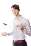 Casino man Royalty Free Stock Image