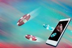 Casino mobile Photos libres de droits