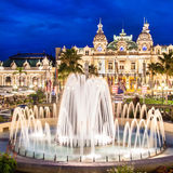 Casino of Monte Carlo. Stock Photo