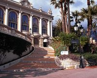 Casino, Monte Carlo. Royalty Free Stock Photography