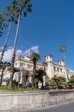 Casino municipal de Sanremo imágenes de archivo libres de regalías