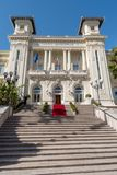 Casino municipal de Sanremo foto de archivo