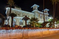 Casino municipal de Sanremo fotografía de archivo
