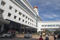 Casino na beira de Tailandês-Cambodia fotos de stock