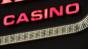 Casino Neon Sign. Photo of Casino Neon Sign Royalty Free Stock Photos