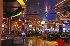Casino in  New York-New York Hotel and Casino in Las Vegas . Stock Photos