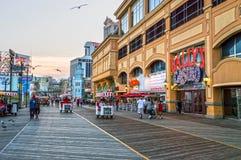 Casino no passeio à beira mar Fotografia de Stock Royalty Free