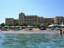 Casino no Rodes, Grécia Imagem de Stock Royalty Free