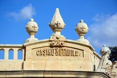 Casino Notabile, Mdina, Malta. Stock Images
