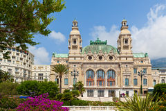 Casino and Opera house in Monte Carlo. Royalty Free Stock Photos