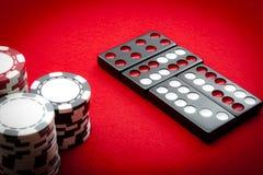 Casino Pai Gow Tiles Stock Photo