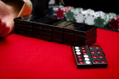 Casino Pai Gow Tiles Royalty Free Stock Photography