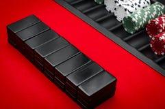 Casino Pai Gow Tiles Royalty Free Stock Photo
