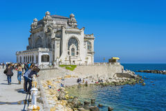Casino Palace in Constanta Stock Photography
