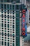 Casino palace. Niagara Falls, aerial view royalty free stock photos